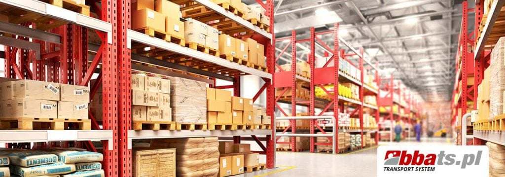 Warehouses and reloading terminals are very important in groupage transports